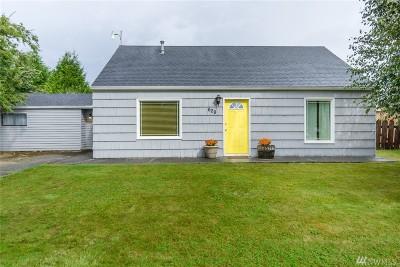 Burlington Single Family Home For Sale: 629 E Olympia Ave