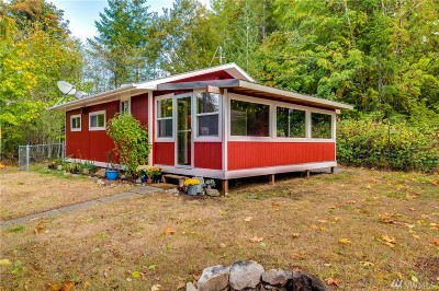 Shelton Single Family Home For Sale: 880 W Lost Lake Rd