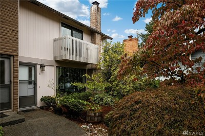Bellevue Condo/Townhouse For Sale: 14836 SE 16th St #8