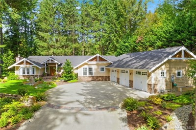 Pierce County Single Family Home For Sale: 4507 Canterwood Dr NW