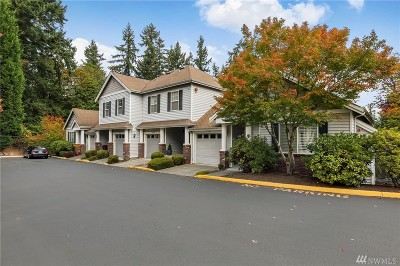 Woodinville Condo/Townhouse For Sale: 15512 132nd Place NE #4B