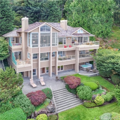 Bellevue Single Family Home For Sale: 1610 W Lake Sammamish Pkwy SE