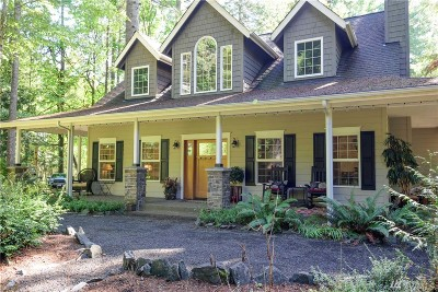 Mason County Single Family Home For Sale: 1130 E Sunset Hill Rd