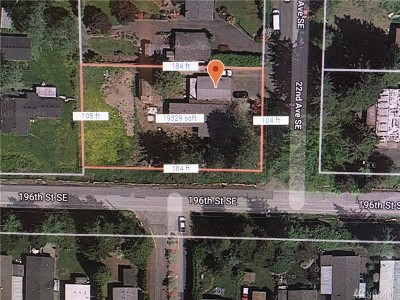 Snohomish County Residential Lots & Land For Sale: 19528 22nd Ave SE