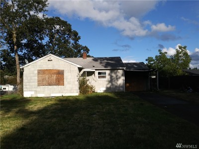 Spanaway Single Family Home For Sale: 16203 A St S