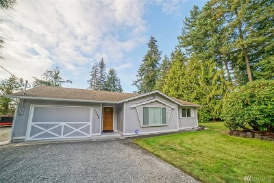 Spanaway Single Family Home For Sale: 7508 192nd St E