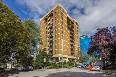 Seattle Condo/Townhouse For Sale: 1300 University St #9A