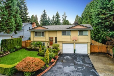 Bothell Single Family Home For Sale: 17505 Woodland Dr