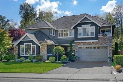 Snohomish Single Family Home For Sale: 8022 151st Place SE
