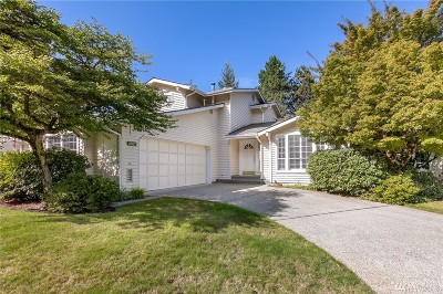 Bellevue Single Family Home For Sale: 6521 115th Place SE