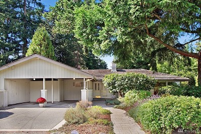 Mercer Island Single Family Home For Sale: 4303 92nd Ave SE