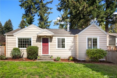 Seattle Single Family Home For Sale: 2704 NE 143rd St