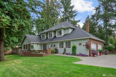 Gig Harbor Single Family Home For Sale: 4705 Bear Creek Lane