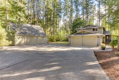 Woodinville Single Family Home For Sale: 19311 NE 165th St