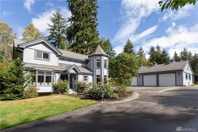 Snohomish Single Family Home For Sale: 18801 Waverly Dr