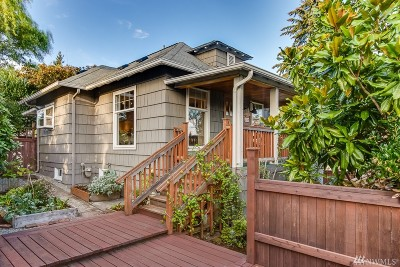 Seattle Single Family Home For Sale: 4218 S Juneau St