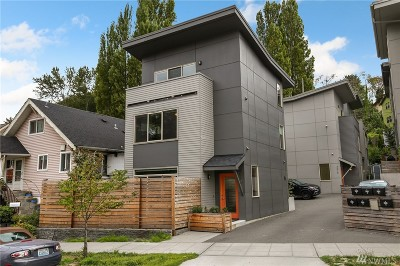 Seattle Single Family Home For Sale: 4518 Delridge Wy SW #A
