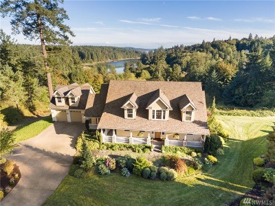 Gig Harbor Single Family Home For Sale: 9913 Key Peninsula Hwy NW