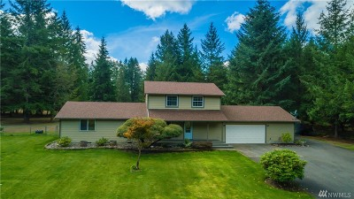 Tenino Single Family Home For Sale: 6349 Waldrick Rd SE