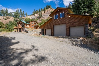 Leavenworth Single Family Home For Sale: 17401 Chumstick Hwy