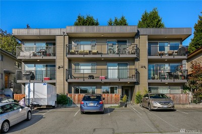 Seattle Condo/Townhouse For Sale: 4219 Whitman Ave N #1
