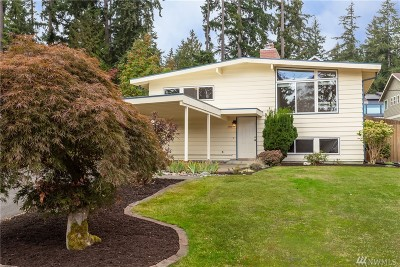 Bellevue Single Family Home For Sale: 3953 153rd Ave SE