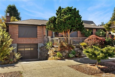 Seattle Single Family Home For Sale: 8317 9th Ave NW