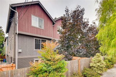 Seattle Single Family Home For Sale: 935 N 97th St #C