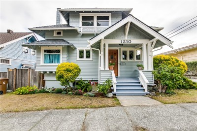 Tacoma Single Family Home For Sale: 1210 N 8th St