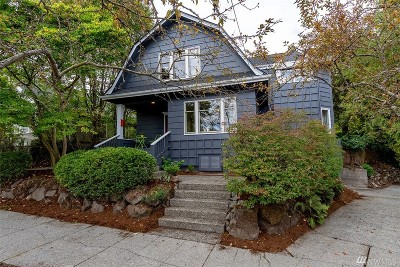Seattle Single Family Home For Sale: 5639 Kirkwood Place N