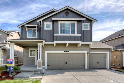 Puyallup Single Family Home For Sale: 10550 191st St E #109