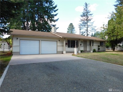 Napavine Single Family Home For Sale: 423 3rd Ave NW