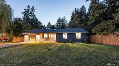Port Orchard Single Family Home For Sale: 1650 Pottery Ave