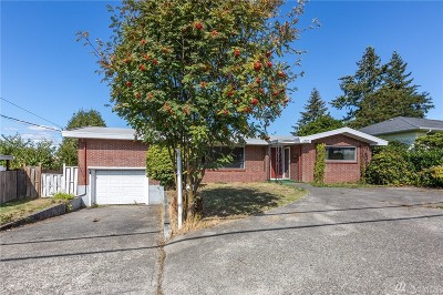 Tacoma Single Family Home For Sale: 7417 S 12th St