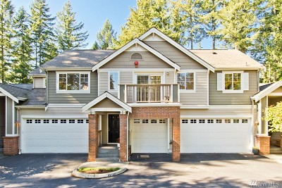Issaquah Condo/Townhouse For Sale: 4259 249th Ave SE #21