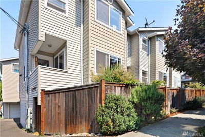 Seattle Single Family Home For Sale: 2812 NW 85th St #B