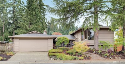 Bellevue Single Family Home For Sale: 16827 NE 32nd St
