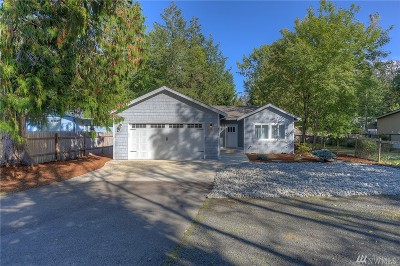 Olympia Single Family Home For Sale: 9628 Steamboat Island Rd NW