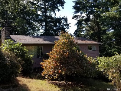 Redmond Single Family Home For Sale: 16609 NE 92nd St