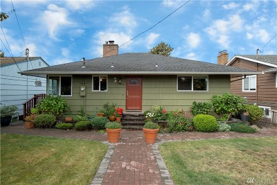 Seattle Single Family Home For Sale: 10223 20th Ave SW