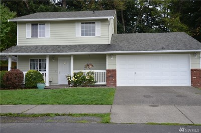 Puyallup Single Family Home For Sale: 9921 140th St Ct E