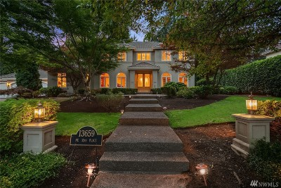 Bellevue Single Family Home For Sale: 13659 32nd Place