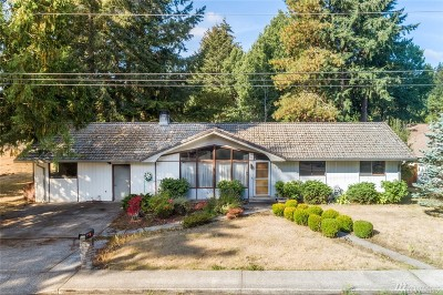 Tumwater Single Family Home For Sale: 1551 Lake Park Dr SW