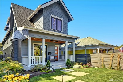 Seattle Single Family Home For Sale: 2217 3rd Ave W