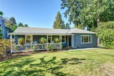 Edmonds Single Family Home For Sale: 22218 98th Ave W