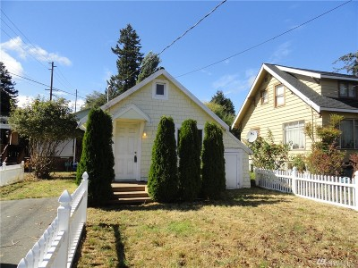 Bremerton Single Family Home For Sale: 1303 N Cambrian Ave