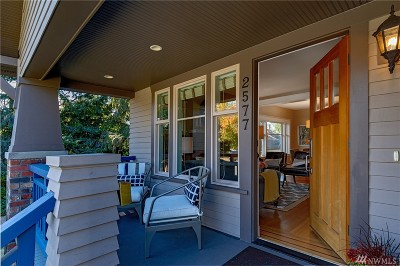 Seattle Single Family Home For Sale: 2577 8th Ave W