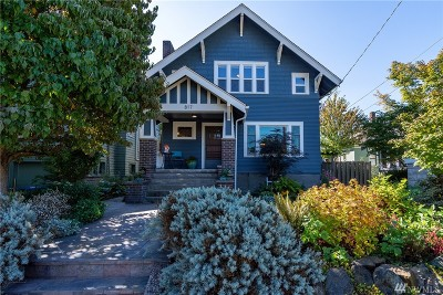 Seattle Single Family Home For Sale: 817 W Bothwell St