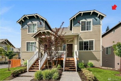 Lynnwood Condo/Townhouse For Sale: 19721 26th Park W #A