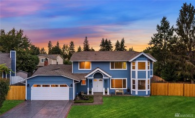 Issaquah Single Family Home For Sale: 4522 191st Ave SE